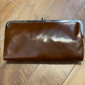 NWT Genuine leather Hobo Lauren wallet.